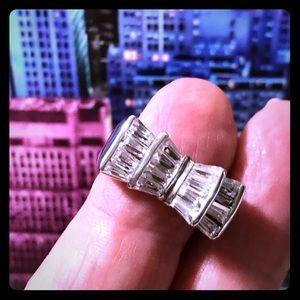 House of Nikolaus bow tie ring size 6-1/2, .925 🌺